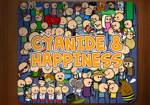 Cyanide & Happiness Every Character Mousepad