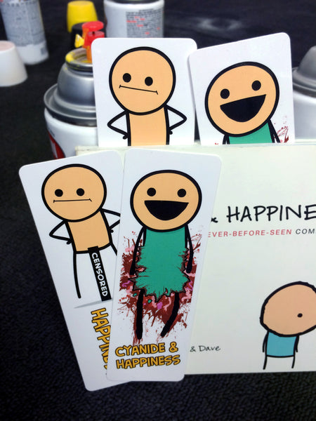 cyanide happiness bookmarks the cyanide happiness store