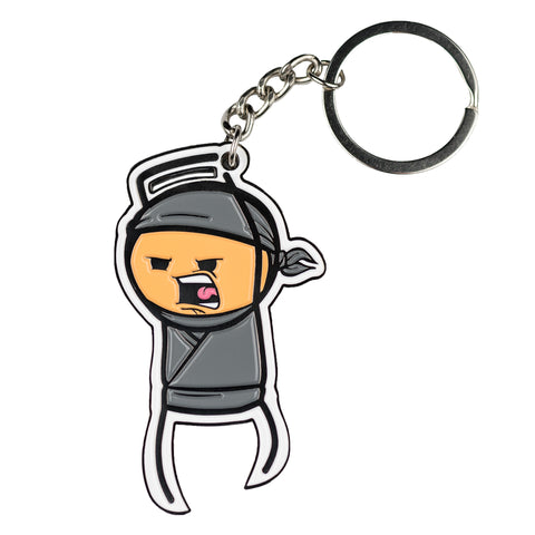 Cyanide & Happiness Ninja Keychain/Bottle Opener