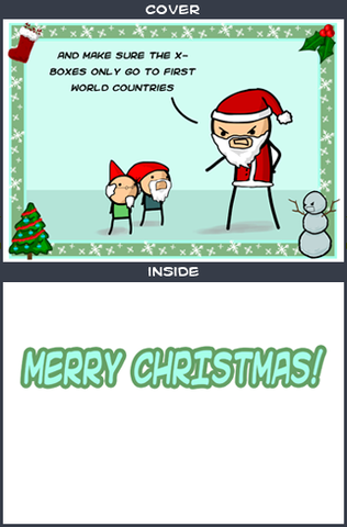 Cyanide & Happiness Elves Greeting Card