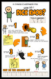 Cyanide & Happiness Dick Knob Poster