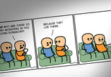 Cyanide & Happiness Dungeon Print (autographed)