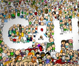 Cyanide & Happiness Huge Every Character Poster