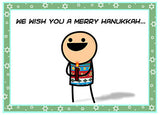 Cyanide & Happiness Jew Year Greeting Card