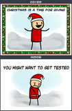 Cyanide & Happiness Tested Greeting Card