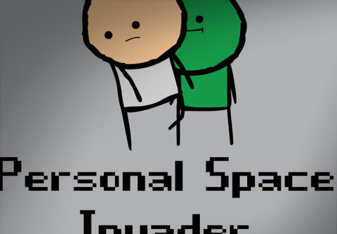 Cyanide & Happiness Personal Space Invader T-Shirt