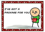 Cyanide & Happiness Package Greeting Card