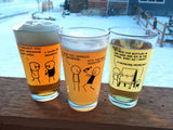 Cyanide & Happiness Drinking Problem Pint Glass