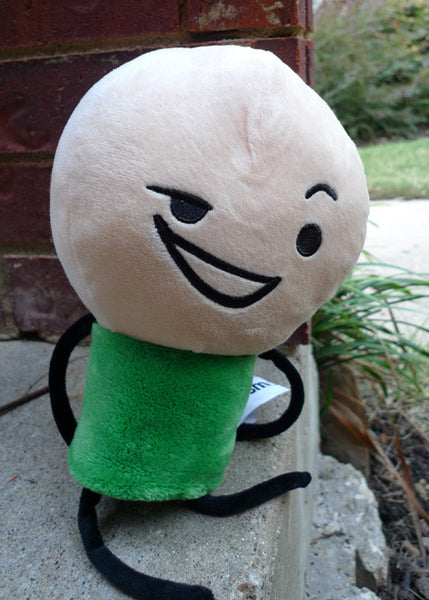 Cyanide Amp Happiness Green Plushie The Cyanide