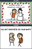 Cyanide & Happiness Frostbite Greeting Card