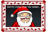 Cyanide & Happiness Chimney Skeet Greeting Card