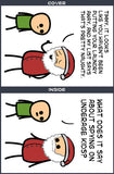 Cyanide & Happiness Santa's List Greeting Card