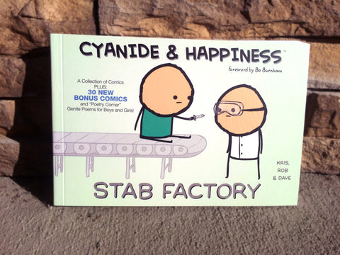 Cyanide & Happiness Stab Factory Book