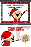 Cyanide & Happiness XMAS Greeting Card