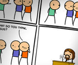 Cyanide & Happiness Abomination print (Autographed)
