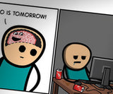 Cyanide & Happiness Brain Print (autographed)