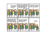 Cyanide & Happiness Dubstep Print (autographed)