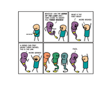 Cyanide & Happiness Genie print (Autographed)