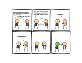 Cyanide & Happiness Highlighter print (Autographed)