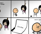 Cyanide & Happiness Honey Print (autographed)