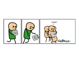 Cyanide & Happiness Instant Orgy Print (autographed)