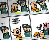 Cyanide & Happiness Last Meal Print (autographed)