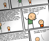 Cyanide & Happiness Life Lessons print (Autographed)