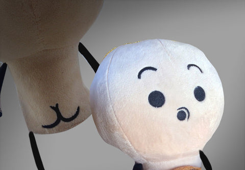 Cyanide & Happiness Naked Plushie