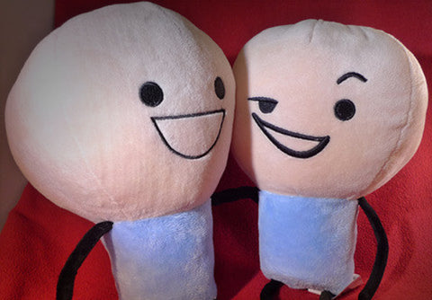 Cyanide & Happiness Blue Plushie