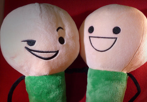Cyanide & Happiness Green Plushie