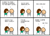 Cyanide & Happiness Next Level Print (autographed)
