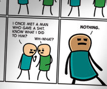 Cyanide & Happiness Not One Given print (Autographed)