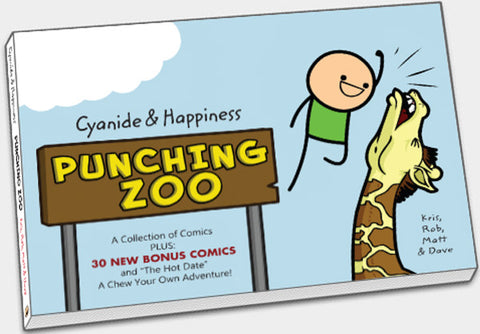 Cyanide & Happiness Punching Zoo (Volume 3)