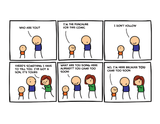Cyanide & Happiness Punchline print (Autographed)