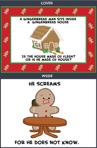 Cyanide & Happiness Gingerbread FleshGreeting Card