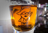 Cyanide & Happiness Two Whiskey's Shot Glass