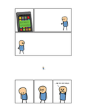 Cyanide & Happiness Sexy Signals Print (autographed)