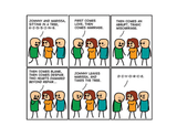Cyanide & Happiness Sitting in a Tree Print (autographed)