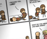 Cyanide & Happiness Soldiers Print (autographed)