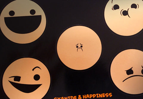 Cyanide & Happiness Face Stickers