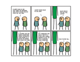 Cyanide & Happiness Tall Justin Print (autographed)