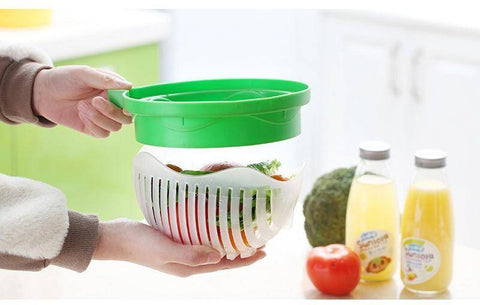 Image of Our General Store Küchen Gadget SaladCut® | Salat in 60 Sekunden!