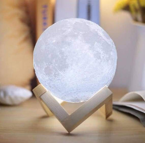 Image of WeSellTrends.com Dekoration Limitierte Mond-Lampe | Extra-Groß