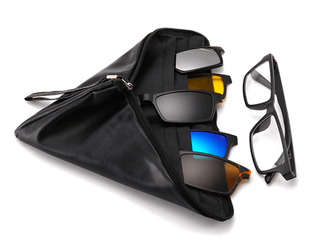 Image of WeSellTrends.com Gadget as picture 19 / Schwarz MYSTI | 5 in 1 Sonnenbrille