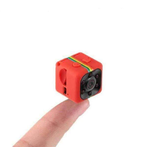 Image of WeSellTrends.com Gadget Red 1080P Night Vision Mini Kamera