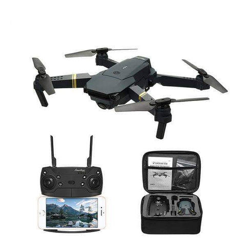 WeSellTrends.com Hobby 2MP x 2 Battery Drone mit Kamera | E58 mit Weitwinkel Kamera