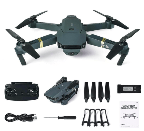 Image of WeSellTrends.com Hobby 2MP x 2 Battery Drone mit Kamera | E58 mit Weitwinkel Kamera