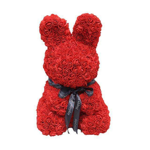 Image of WeSellTrends.com Liebe & Pärchen Red Riesiger Rosen Hase