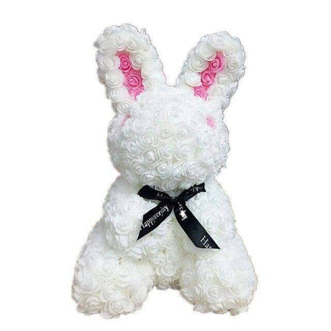 Image of WeSellTrends.com Liebe & Pärchen White Riesiger Rosen Hase