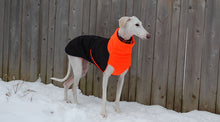 Load image into Gallery viewer, Great White North Winter Jacket for Greyhounds by Chilly Dogs - Imperial Purple